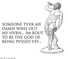 Natalie Dee comic: my damn wine * Text: