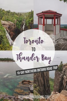 Road Trip With Kids, Ontario Attractions, Thunder Bay Canada, Lake Superior, Places To Travel, Places To See, Montreal Travel, Discover Canada, Ontario Travel