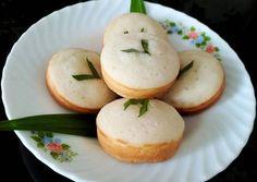 Apem Jawa Empuk Indonesian Desserts, Asian Desserts, Indonesian Food, Indonesian Recipes, Malaysian Dessert, Heritage Recipe, Cake Recipes, Dessert Recipes, Steamed Cake