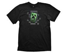 Minecraft Creeper Inside Small T-shirt Black All T-Shirts are made from high quality 100% pre-shrunk cotton for a long lasting fit even after being washed several times. All Artwork are original designs and printed using a very durable silk scre http://www.MightGet.com/march-2017-1/minecraft-creeper-inside-small-t-shirt-black.asp