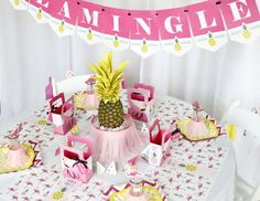 Flamingo - Party Like A Pineapple Birthday Party