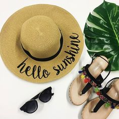 Hello there, Sunshine!// Click the link in our bio to start shopping all of our fresh, new arrivals! { Shop the look: Beach Hat - $29 / The Ava - $49 / Sunnies - $12} Find this hat in these stores soon: #RunwaySevenHighlandVillage #RunwaySevenAllen #RunwaySevenBeeCave #RunwaySevenFortWorth #RunwaySevenKaty #RunwaySevenBranson #RunwaySevenSavannah #RunwaySeven #me #happy #fun #fashion #instadaily #amazing #streetstyle #style #linkinbio #freeshipping