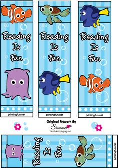 Nemo bookmarks  Keep on reading!
