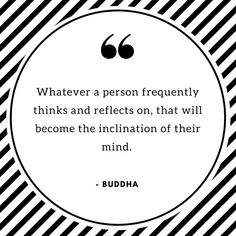 Inspiring quote about the importance of a Positive mindset. You deserve happiness
