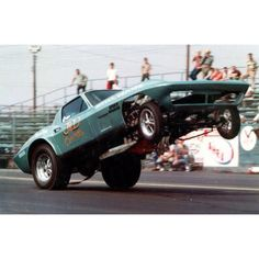 Vintage Corvette Stingray funny car.