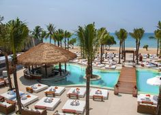 Found this on Beach & Bubbles: Nikki Beach Bali