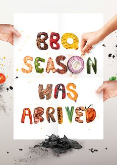 Grillography: Here's Your BBQ-Inspired Typeface!