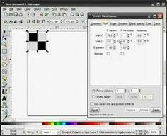 Inkscape Tutorial by heathenx: Create Tiled Clones