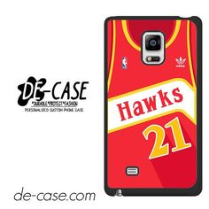 Hawks Basketball Jersey DEAL-5192 Samsung Phonecase Cover For Samsung Galaxy Note Edge