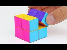 origami – action origami – double star flexicube (David Brill) – tutorial – dutc… – How to make Origami Modular, Diy Origami, Origami Vase 3d, Cube Origami, Origami Infinity Cube, Paper Crafts Origami, Origami Stars, Origami Flowers, Origami Tutorial