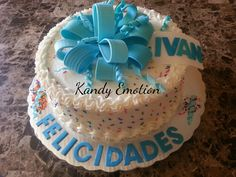 Birthday cake Butter creme Kandy Emotion Cumpleaños