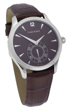 Louis Erard 1931 Small Seconds Manual wind Men's Luxury Watch 47207-AA15: Watches: Amazon.com