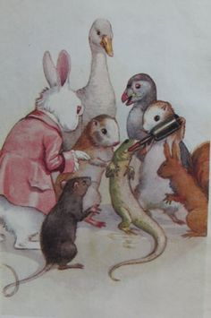 Alice in Wonderland - Carroll Lewis Margaret Tarrant Illustration March House Books