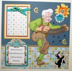 Momz Disney Premade Piecing Scrapbook Pages Adriana   eBay