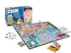 You know the classic board game, now get ready to play it with a Family Guy twist with the Family Guy Collector's Edition Clue game. The game is a Family Guy Classic Board Games, Fun Board Games, Family Night, Family Guy, Clue Games, Griffin Family, Cartoon Tv Shows, The Deed, Take My Money
