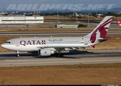 Qatar Airways (Qatar Amiri Flight) A7-AFE Airbus A310-308 aircraft picture