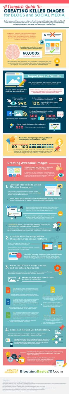 Your Guide To Creating Great Images for Your Blog [INFOGRAPHIC] Marketing Mojo for Small Business