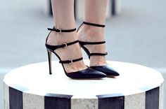 #fashion #shoes http://www.ohmyvogue.com/2014/09/stripes-at-palais-royal.html?utm_source=feedburner