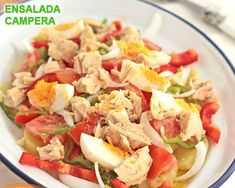 Country salad, a healthy summer recipe, The country salad is a quick and easy recipe Prepare healthy and rich summer recipes for the whole family. Kitchen Recipes, Cooking Recipes, Healthy Summer Recipes, Ratatouille, Seafood Recipes, Fish Recipes, Food Hacks, Good Food, Easy Meals