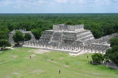 7 wonders of the new world - Mayan City Of Chichen Itza, Mexico
