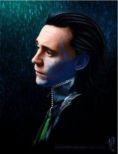 Half Jotun Loki <3