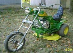 tractor motocycle  Cortador de grama