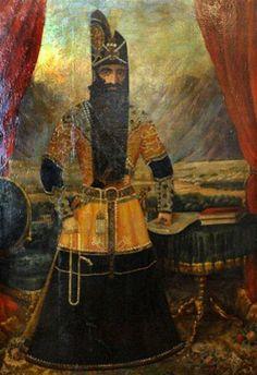 nadir shah painting
