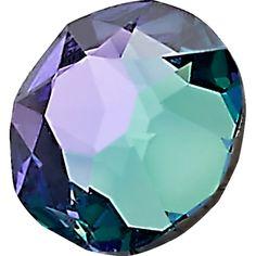 72 Swarovski Crystal Rhinestones ~ 30ss ~Blue Zircon AB
