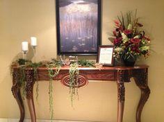 Holiday decor Seasonal Decor, Holiday Decor, Entryway Tables, Furniture, Home Decor, Room Decor, Home Interior Design, Home Decoration, Interior Decorating