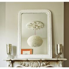The Mina Over Mantle Mirror - View All Mirrors - Mirrors