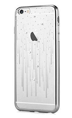 00601c3b748 Devia iPhone 6s Plus Case, Meteor Shower Design Swarovski Element Diamond  TPU Case Bumper Cover[Packaging Detail] for 5.5 iPhone 6 Plus/6s Plus(Meteor  ...