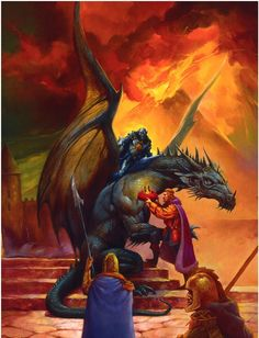 Dragonlance, Bertrem's Guide to the War of Souls, Volume 1 by Jeff Easley.