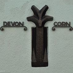 The old border between Devon and Cornwall in Kingsand. Prior to boundary changes in 1844, Kingsand was in Devon, now its in Cornwall.