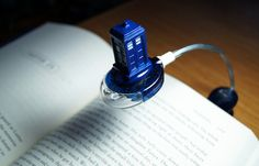 Doctor Who Book Light. I want it!!