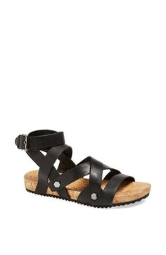 Truthfully only tall people should wear gladiator sandals. But these do not have that weird solid mass on the back with the zipper so perhaps there is hope?   Rebecca Minkoff 'Tristen' Sandal | Nordstrom