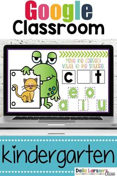 $4.50 · This interactive Google Classroom digital resource provides practice with short vowel sounds. This resource was designed to help your kids identify short vowels in CVC words. Phonological/Phonemic… More Kindergarten Readiness, Kindergarten Classroom, Classroom Activities, Classroom Ideas, Google Classroom, French Language Learning, Learning Spanish, Spanish Language, Literacy Stations
