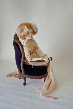 Porcelain doll by Oksana Saharova