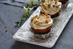 Carrot cake cupcakes/ Cupcakes cu morcovi | gabriela cuisine - recipes