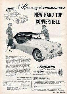 1956 Triumph TR2.