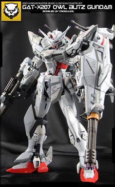 GUNDAM GUY: 1/100 Owl Blitz Gundam - Custom Build