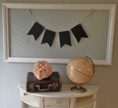 Chalk board Banner Reusable Wedding Baby Shower by Oopsredone, $19.99