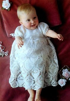 Matching Party Dresses Child Doll Cavendish Crochet PATTERN//Instructions NEW