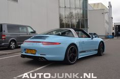 Primeur op NL platen! - 911 Targa Exclusive foto's » Autojunk.nl (140181)