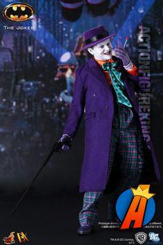 """Never rub another man's rhubarb!"" Hot Toys sixth-scale Joker action figure. #jacknicholson #thejoker #joker #batman #hottoys #actionfigures #actionfigure"