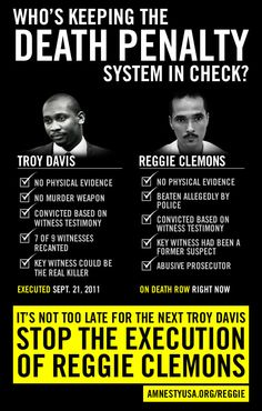 Is Reggie Clemons the next Troy Davis? 10 facts that will make your blood boil