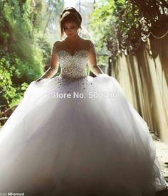 Wunderschönes Prinzessinen Brautkleid.