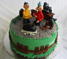 Pat and mat fien pien cakes pinterest for Pataka bano food mat