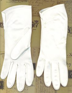 Vintage White Gloves Short Size 6 Ladies Dress by TheMaineCoonCat, $8.95 COME SEE ALL MY SALES!!