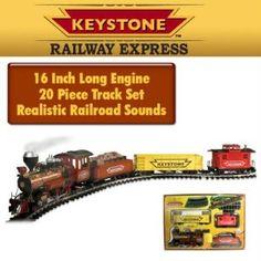 Keystone G scale train set