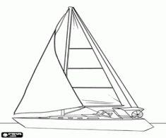 Ruderboot malvorlage  malvorlagen Das Segelboot und die Möwen ausmalbilder | Visualize ...
